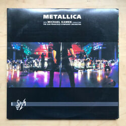METALLICA S&M LP 199 3 X LP IN GFOLD COVER WITH INSERTS - NICE COPY - LIGHT SHE