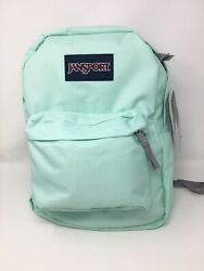 Jansport Superbreak Brook Green Student School Backpack. College. Bookbag. $20.00