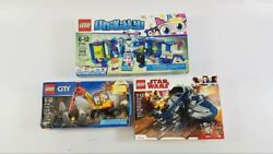 3 Sealed-in-Box Complete LEGO Sets: Star Wars Unikitty City - LOT