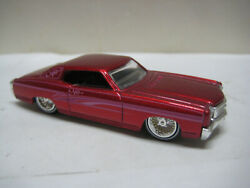 JADA TOYS MINT 1970 CHEVY MONTE CARLO LOW RIDER WITH RUBBER TIRES