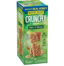 Nature Valley Oats #x27;n Honey Crunchy Granola Bars 98 ct. $20.99