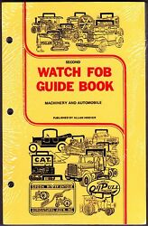 New Hoover's 2nd Watch Fob Price Guide Book for Heavy EquipmentMachineryAuto
