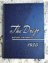 Vintage The Drift Butler University Year Book - 1950