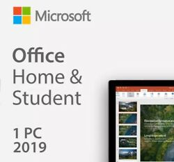 Microsoft Office 2019 Home and Student Retail Product For PC ONLY