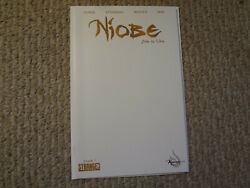NIOBE SHE IS LIFE #1 BLANK VARIANT HTF SOLD OUT