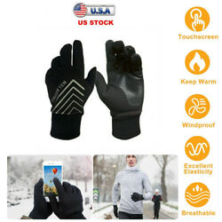 Winter Gloves Men Women Touch Screen Sport Glove For Skiing Skating Cycling 2019 $8.38