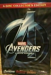 Marvel Avengers 1-4 Collector's Edition DVD 4-Movie Collection- Includes Endgame