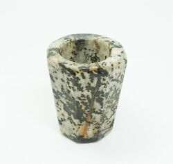 Estate Antique At Least Early 20c Carved Asian Hard Stone Inkwell $119.98