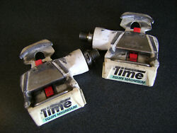used Time Equipe Magnesium TBT cleat style pedals