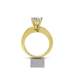 1.47ct F-VS2 Round Natural Certified Diamond 14k Gold Solitaire Engagement Ring
