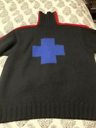 Ralph Lauren Polo Swiss Cross Ski XL Extremely Rare Arctic Challenge Downhill $300.00