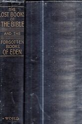 RARE 1926 LOST BOOKS OF THE BIBLE OCCULT EDEN ILLUSTRATED GIFT IDEA APOCRYPHA