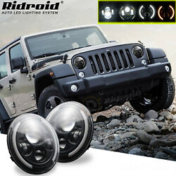 For Jeep Wrangler JK LJ TJ CJ Pair 7