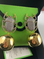 Begum Khan Pharaon Party Extra Large Runway Clip On Earrings