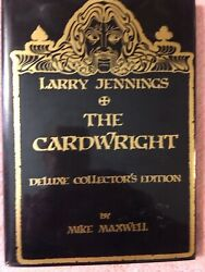 Larry Jennings' The Cardwright  (1st Ed) by Maxwell Mike 1988 L