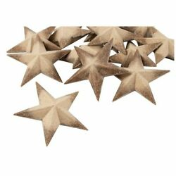 3D Wood Star 12 Pcs Unfinished Wooden Star Pieces DIY Star for Ornament 3quot; $11.99