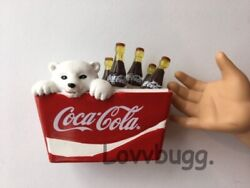 Cokes Cooler Mini for 18quot; American Girl Doll Food Accessory LOVV LOVVBUGG 🐞 $14.95