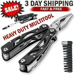 Multi Tool Knife Pliers Saw Kit Survival Multitool Screwdriver Outdoor Camping