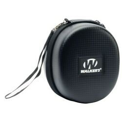 Walkers Game Ear GWPREMSC Razor Patriot Black Electronic Earmuff Carry Case $13.54