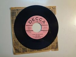 WHO: I Can See For Miles Mary Anne With The Shaky Hands U.S. 7quot; 67 Decca 32206DJ $124.98