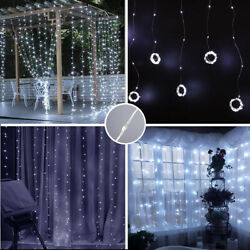 300LED Party Wedding Curtain Fairy Lights USB String Light Home + Remote Control $13.39