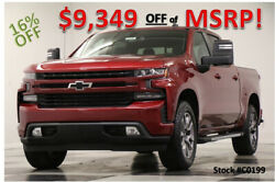 2020 Chevrolet Silverado 1500 MSRP$57110 4X4 RST Z71 Sunroof Leather Red Crew 4W New Heated Black Leather Camera Off Road Cajun 18 19 2019 20 Cab Tow Mirrors