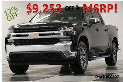 2020 Chevrolet Silverado 1500 MSRP$55580 4X4 Z71 LT Sunroof  Black Crew 4WD New Heated Eench Leather Seats Camera Off Road Cab 19 2019 20 Bluetooth Mylink