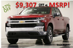 2020 Chevrolet Silverado 1500 MSRP$56075 4X4 Z71 LT Leather Sunroof Red Crew 4WD New Heated Bench Seats Camera Remote Start Cajun Tintcoat 19 2019 20 Cab 5.3L V8