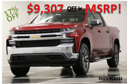 2020 Chevrolet Silverado 1500 MSRP$56075 4X4 LT Sunroof Red Crew 4WD New Heated Leather Bench Sets Camera Bluetooth Cajun 19 18 2019 20 Cab 5.3L V8