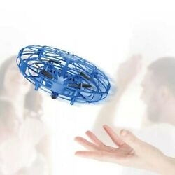 Mini UFO Drone RC Infrared Sensor Induction Aircraft Quadcopter Flying Toy 360° $19.99
