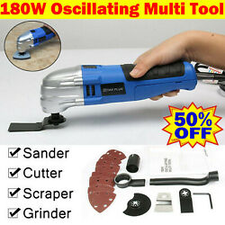 180W Electric Oscillating Multi Tool Cutter Sanding Grinding Grout Removing $40.90