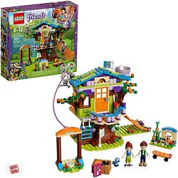 Lego Friends Mias Tree House Gift For Kids Girls Building Toy Set 351 Pieces