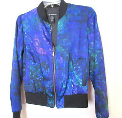 NWT INC Light weight JACKET Size:X Small Shades of Blue Polyester Lining $25.95