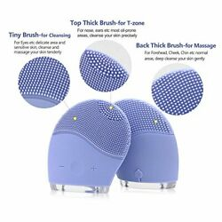 Facial Cleansing Brush Waterproof Silicone Face Brush Face Massagerall Skin T $23.88
