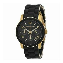 Michael Kors Runway MK5191 Black Catwalk Chronograph Women's Watch