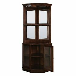 RAM Game Room Corner Bar Tower Cabinet