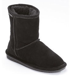 Bearpaw Girls Youth Emma Wool Blend Lined Suede Pull On Winter Boots $34.99