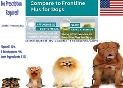 3 Month#x27;s Generic Frontline Plus For Dogs 89 132 LBS XLarge Flea amp; Tick Plus $16.00