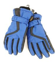 Helicase Kids Winter Gloves Waterproof Blue Size L Ages 10 12 $10.15