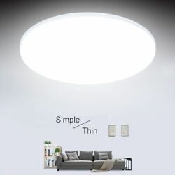 Ultra Thin LED Ceiling Lights 15 20 30 50W Modern For Living Room Surface Mounte $10.38