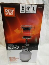 RED STONE  Propane Powered 40000-BTU 360-Degree Tank Top Radiant Heater Camping $80.00