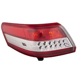 Tail Light Clear Lens Driver Left Fits 10-2011 Toyota Camry $65.41