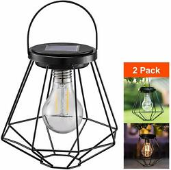 Solar Lanterns Outdoor Hanging Sunwind Led Garden Table Lamps Solar Powered Ed $35.99