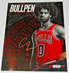 COBY WHITE signed CHICAGO BULLS RC Run With Us Official game program W COA #0 $60.00