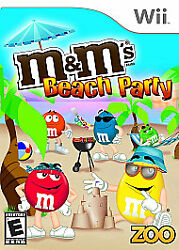 Mamp;M#x27;s Beach Party for Nintendo Wii WII Action Adventure Video Game $4.70