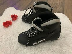 Alpina Touring Series T Plus cross ski boots shoes 38 Size 7 US Womens $29.99