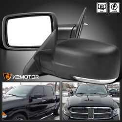 Fits 2009-2012 Dodge Ram 1500 LED Signal Power+Heated Foldable Side Mirrors Pair $179.32