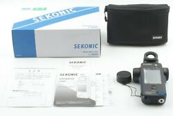 【 UNUSED in BOXED 】Sekonic L-858D Speed master Light Meter From JAPAN