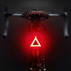 Multi Lighting Modes Bicycle Light USB Charge Led Bike Light Flash Tail Rear New $8.28
