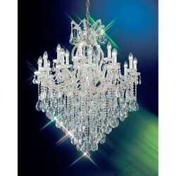 Classic Lighting Maria Theresa Crystal Traditional Chandelier Chrome - 8128CHSC $5,832.00